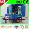 Doppio Stages Vacuum Insulation Oil Purifier con Trailer