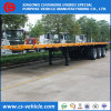 3 recipiente do eixo 45FT/40FT que carrega o reboque Flatbed