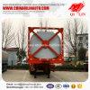 Remorque bon marché de camion-citerne de conteneur du Tri-Essieu 40FT 45FT des prix semi