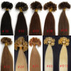 Tip Pre-Bonded Hair Extensions de 100%Brazilian Virgin Human Hair U