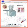 Swh-7017 tipo de envolvimento excedente automático máquina de embalagem
