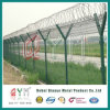 機密保護空港塀/安くPVC販売のための上塗を施してある空港塀/溶接された網の塀