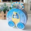 Hatbox Tin mit Wheels (6 Zinn)