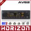 Joueur de MP3 électrique de voiture de l'ajustement AV62, affichage de calendrier perpétuel, joueur de MP3 de voiture
