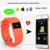 Bracelet intelligent de Bluetooth 4.0 avec la fonction de fréquence cardiaque (ID100)