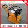 C160h Honda/gasolina/gasolina/diesel do pisco de peito vermelho - compressores pstos da placa de vibração
