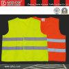De gele & Oranje Weerspiegelende Vesten van de Veiligheid (CC-V01)