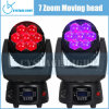 Точное 7X12.8W Stage Lighting Moving Head Wash