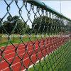 Clôture enduite de maillon de frontière de sécurité/chaîne de maillon de chaîne de PVC