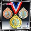 Médaille en métal de modèle de propriétaire avec le placage différent