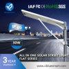 12-120W todo em uma luz de rua solar com fonte luminosa
