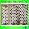 Sacs de transporteur de gilet de sachets en plastique de HDPE sur le roulis