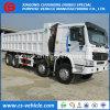 판매를 위한 Sinotruck HOWO 8X4 40t 50t 팁 주는 사람 또는 쓰레기꾼 또는 덤프 트럭