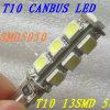 Kwaliteit 12V White 13SMD Canbus T10 Car LED