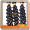 3grade Deep Wave de Hair indien Kbl Hair Product