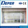 Porta deslizante de vidro brilhante automática