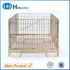 Gutes Sale Metal Folding Wire Mesh Container mit Wheels