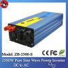 2500W 24V gelijkstroom aan 110/220V AC Pure Sine Wave Power Inverter