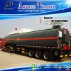 3 ejes Asfalto Tanker Transport Remolque con sistema de calefacción