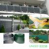 Rete fissa della tela incatramata del balcone per il giardino, tempo di impiego Anti-UV e lungo (UND-BF001)