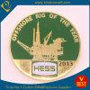 Pièce de monnaie en gros faite sur commande en métal avec l'émail mol (JS007)