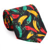 Corbata impresa seda de moda de los nuevos hombres del diseño