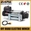 para el jeep del torno eléctrico del motor del camino 12500lbs Waterprood con la cuerda de alambre