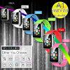 Reloj Pocket elegante del teléfono A1 de Whatch del cuidado médico caliente de la venta con la tarjeta y la cámara de SIM