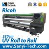 Rolo UV da impressora UV larga do grande formato de Sinocolor Ruv-3204 da impressora da máquina de impressão de Digitas da impressora do formato para rolar a impressora de Digitas da impressora