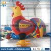 Modèle gonflable de poulet de vente chaude, annonçant le modèle à vendre