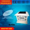 Lumière solaire de vente chaude de poste de frontière de sécurité de qualité