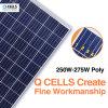 El panel solar de las células de Q con la eficacia alta 250W 255W 260W 265W 270W 275W