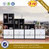 Cabina de fichero de madera de la cabina/de la melamina de almacenaje/estante para libros chino de los muebles de oficinas (HX-6M258)