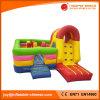 Castelo Bouncy combinado de salto inflável do Moonwalk de encerado do PVC (T3-601)