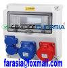 Cajas electrónicas de plástico con zócalo IP44, caja eléctrica