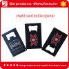 Apri di bottiglia della carta di credito dell'acciaio inossidabile di stampa di colore completo