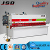 Máquina de la guillotina de la placa del hierro de Jsd QC12y-4*2500