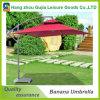 parasol colgante del plátano de los 3m del paraguas del patio del parasol del jardín voladizo al aire libre de Sun