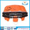 L'homologation de SOLAS Projettent-Par dessus bord le radeau de sauvetage gonflable