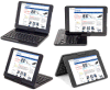 Lenrich 360 Rotating Keyboard Case voor iPad PRO, Wireless Bluetooth Keyboard met Detachable Swivel Case Stand Protective Shell voor Apple iPad PRO 12.9 Inch Tab