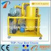 Обрабатывающ масла трансформатора жидкостей отхода изолируя машину он-лайн Filtrating (ZYD)