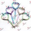 De Levering voor doorverkoop van de Halsband van het Medaillon van het Glas van het Hart van de regenboog (RHL01)