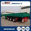 De Chinese Semi Aanhangwagen van de Zijwand van de Lading van tri-Assen 60ton