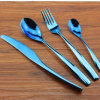 18/10 or populaire des couverts Set/Flatware Blue/Tableware d'or