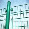 Китайской сваренная фабрикой панель загородки ячеистой сети PVC безопасности покрытая