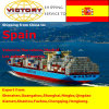 Frete de mar de FCL&LCL de China a Spain com o melhor serviço (frete de mar)