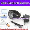 Reloj de Bluetooth con el auricular sin hilos micro