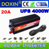 Charge Current 20AMP DCへのAC 12V 220V Power Inverter (DXP4000WUPS-20A)の4kw LED Home Inverter