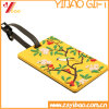 PVC variopinto Luggage Tag con Your Design Logo (YB-LY-LT-30)