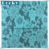 Tessuto blu di vendita caldo del merletto di disegno della Corea del cotone 2016 per il vestito sexy dalle donne